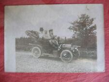 PHOTO ANCIENNE D'UNE AUTOMOBILE A IDENTIFIER , PEUGEOT TYPE 91 1907/1908 ?