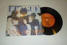 "THE HUMAN LEAGUE - Love Action - Pop classic 1981 UK 7"" vinyl single With Sleeve"
