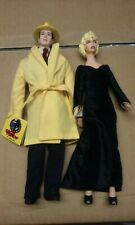 "Dick Tracy 9"" Doll Lot Applause 1990 Breathless Mahoney Madonna Warren Beatty"
