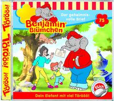 Benjamin Blümchen - Folge 75 - Der geheimnisvolle Brief - Hörspiel - CD - *NEU*