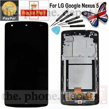 LCD Display Digitizer & Touch Screen & Frame For LG D820 D821 Google Nexus 5 UK