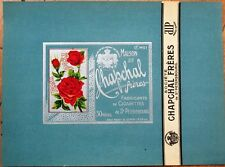 Russia/Russian 1910 Cigarette Box Label/Wrapper - Color Litho - St. Petersburg