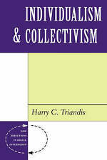 NEW Individualism And Collectivism (New Directions in Social Psychology)