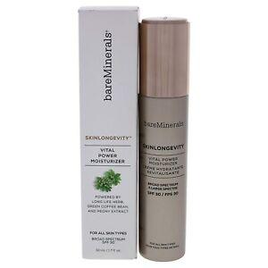 bareMinerals skinlongevity vital power moisturizer broad spectrum spf 30 1.7 oz