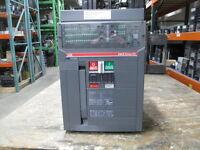 ABB SACE E2N-A 16 1600A 3P 600V MO/FM Breaker PR121/P w/ LSIG Used EOk