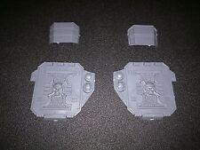 Warhammer 40k Space Marines Deathwatch Corvus Blackstar Plates / Window Bits