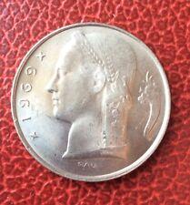 Belgique - Superbe monnaie de 5 Francs 1969 FR   - Rare en cette qualité