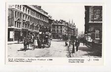 Old London Holborn Viaduct c 1888 Repro Postcard 894a