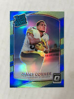 JAMES CONNER 2017 Donruss Optic RR LIME GREEN PRIZM SP RC REFRACTOR #172! INVEST