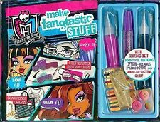 Monster high kids make Fangtastic stuff kit couture