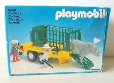 PLAYMOBIL # 3529 RHINO TRANSPORT CAGE