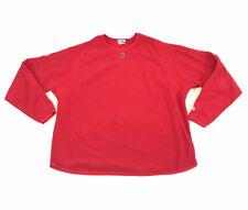 Majestic Boston Red Sox Warmup Sweatshirt Fleece Pullover Mens 2XL XXL Red
