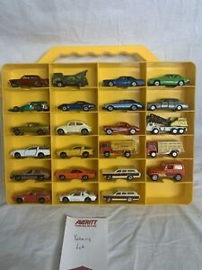Vintage Yatming Die-cast Toy Car Lot