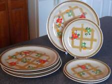 Stoneware Dishes ~ Country Living ~ Hopscotch ~Lattice & Flowers #SY-17773