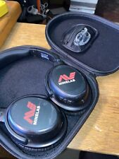 New listing Minelab Ml-80 Bluetooth Wireless Headphones With Carrying Case & Charger