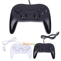 New Pro Classic Game Controller Pad Console Joypad For Nintendo Wii Remote