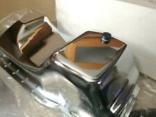 Summit Racing SUM-123457 Chrome Plated Dbl Sump Oil Pan 83-93 Ford Mustang 5.0L