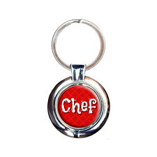 Chef Cook and Food Lover Keychain Key Ring