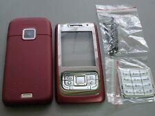 new  nokia e65 red cover  housing keypad set