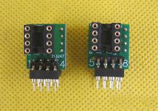Double Mono OP AMP to Dual OP AMP Adapter Converter Socket f NE5534 OPA627 AD847