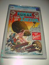 KORAK SON OF TAZAN #52 CGC 9.6 NEAR MINT + 1973 DC COMICS EDGAR RRCE  BURROUGHS