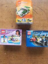 3 Sealed Boxed LEGO Friends 41000 Jetski City 60006 Creator 6910 Car Truck