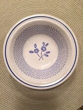 Kilncraft Staffordshire Pottery Pattern SPD14 - 8 Cereal Bowls - Crosses Flowers
