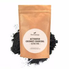Activated Charcoal Tooth Polish Powder 30g | Pure Option to Whitening Toothpaste