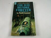 "Vtg. ""The Day Before Forever"" by Keith Laumer 1969 Dell 1691 Vintage Sci Fi PB"