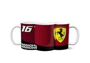 Ferrari 2021 Charles Leclerc Formula 1 F1 Mug / Prefect Gift