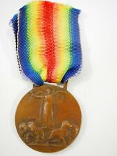 Wwi 1914-18 Inter Allied Victory Medal Bronze with Ribbon