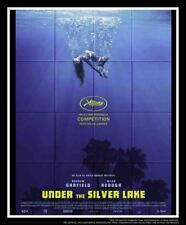 UNDER THE SILVER LAKE 4x6 ft French Grande Movie Poster Original 2018