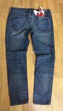 Harlan Crop Earnest Sewn 30L Signature Jean w/ Red Bandana Fast Ship
