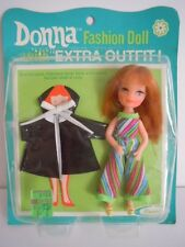 "SUPER SCARCE, HARD-TO-FIND VINTAGE UNEEDA TINY TEEN DOLL+ EXTRA DRESS "" DONNA L2"