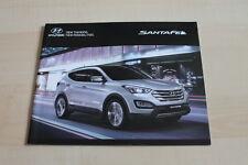 129097) Hyundai Santa Fe Prospekt 09/2013