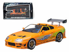"""BRIAN'S 1995 TOYOTA SUPRA MK 4 """"THE FAST AND FURIOUS"""" 1/43 GREENLIGHT 86202"""
