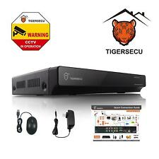 TIGERSECU 4 Channel DVR CCTV Analog D1 P2P Security System (No HDD and Camera)