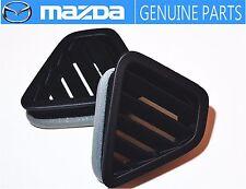 MAZDA GENUINE OEM RX-7 FC3S Demister Grill Dashboard Vent Pair Black JDM