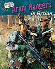 Special Ops Ser.: Army Rangers in Action by Michael Sandler (2008, Library...