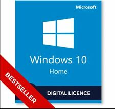 Windows 10 Home 32/64 bit Genuine  Product Key /License +Download Link