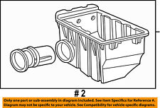FORD OEM Air Cleaner Intake-Lower Tray 6L2Z9A600BA