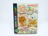 Game Boy Couleur Hamster Paradise 3 Version Japon Complet