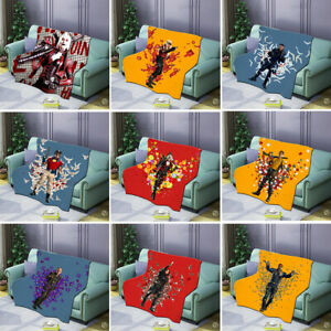 2021 The Suicide Squad 2 Fleece Blanket Cosplay Harley Quinn Winter Soft Quilt