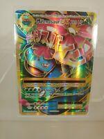 M Venusaur EX - 100/108 - Full Art Ultra Rare NM Pokemon XY Evolutions fresh Pul