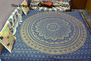 Hippie Mandala Tapestry Ombre Wall Hanging Indian Throw Bedspread Dorm Tapestry