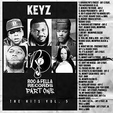 DJ KEYZ - THE HITS VOL. 5: Roc-A-Fella Records Pt. 1 (MIX CD) JAY-Z, SIGEL,BLEEK