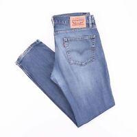 Vintage LEVI'S 511 Slim Straight Fit Men's Blue Jeans W34 L32