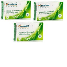 Protezione Himalaya Neem & Curcuma sapone 75G (pacco da 3)
