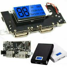 Dual USB 5V 1A 2.1A Mobile Power Bank 18650 Battery Charger PCB Module Board -AU