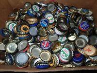 LOT Of 400 mixed lot of beer Bottle Caps Crafts Sam Adams Grolsch Shipyard more